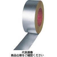 マクセル(maxell) アルミ粘着テープ(ツヤなし)50mm 806000-20-50X50 1巻(50m) 351-9091 (直送品)