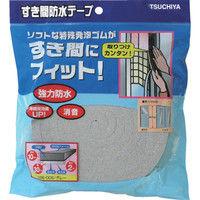 槌屋 すき間防水テープ グレー 10mm×30mm×2m SBE-005 1巻(2m) 356-4185 (直送品)