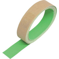 トラスコ中山 TRUSCO 蛍光ノンスリップテープ 屋外用 25mmX3m グリーン TKNS25 1巻 256ー4246 (直送品)