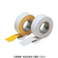 日東電工 日東 粗面ラインテープB型 75mm×10mX0・91mm 黄 75B 1巻 125ー0736 (直送品)