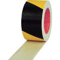 スリオン 危険表示用布粘着テープ50mm×25m イエロー/ブラック 336200-SS-00-50X25 1巻(25m) 356-3847 (直送品)