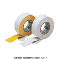日東電工 日東 粗面ラインテープB型 100mm×10mX0・91mm 黄 100B 1巻 125ー0752 (直送品)