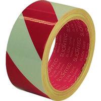 日立マクセル スリオン 危険表示用反射テープ 90mm×10m(赤/白) 965100RW0090X10 1巻 351ー9252 (直送品)