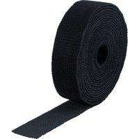 トラスコ中山(TRUSCO) マジックバンド結束テープ 両面 幅40mmX長さ5m 黒 MKT-4050-BK 1巻 361-9711 (直送品)