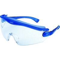 山本光学 保護メガネ・ゴーグル スワン 一眼型セーフティグラス SN730BL 1個 324-1971 (直送品)