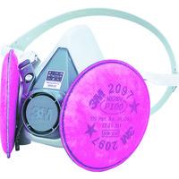 3M(スリーエムヘルスケア) 取替式防じんマスク S 60002097RL3S 1個 373-9716 (直送品)