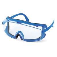 山本光学 保護メガネ・ゴーグル スワン 一眼型セーフティグラス プロテクトカバー付 SN711PRO 1個 355-2411 (直送品)