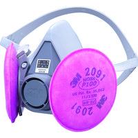 3M(スリーエムヘルスケア) 取替式防じんマスク S 60002091RL3S 1個 399-0338 (取寄品)