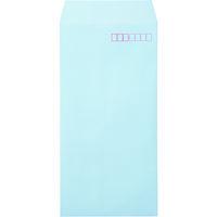 カラー封筒 長3 ブルー 100枚