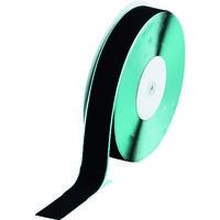 トラスコ中山 TRUSCO マジックテープ 糊付A側 幅50mm×長さ25m 黒 TMAN5025BK 1巻 361-9443 (直送品)