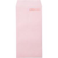 カラー封筒 長3 ピンク 100枚