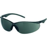 TRUSCO(トラスコ中山) 二眼型セーフティグラス ソフトテンプルタイプ レンズグレー TSG147GY 330-4931 (取寄品)