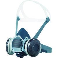 SHIGEMATSU WORKS(重松製作所) 取替え式 防塵マスク(伝声器付)U2Wフィルタ使用 M DR80U2W 1個 126-4079 (直送品)