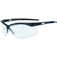 TRUSCO(トラスコ中山) 保護メガネ・ゴーグル 二眼型セーフティグラス フレームブラック TSG8106BK 1個 365-8431 (取寄品)