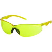TRUSCO(トラスコ中山) 二眼型セーフティグラス ソフトテンプルタイプ レンズイエロー TSG147Y 330-4922 (取寄品)