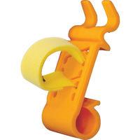 TANIZAWA(谷沢製作所) ヘルメット関連用品 ペン&ライトホルダー オレンジ PLHU 1個 366-8401 (直送品)