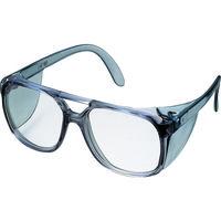 TRUSCO(トラスコ中山) 保護メガネ・ゴーグル 二眼型セーフティグラス プラスチックフレームタイプ GS404 1個 126-0715 (直送品)