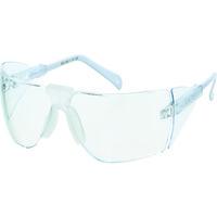 TRUSCO(トラスコ中山) 保護メガネ・ゴーグル 二眼型セーフティグラスノンフレームタイプ GS21 1個 175-0151 (取寄品)