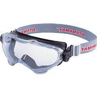 山本光学 一眼型保護 マスク併用 スワン 浮遊粉塵用セーフティゴグル YG6000BK 1個 324-1963 (取寄品)