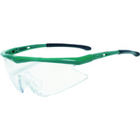 TRUSCO(トラスコ中山) 保護 一眼型安全メガネ スポーツタイプ フレームグリーン レンズクリア TSG1856GR 365-8325 (取寄品)