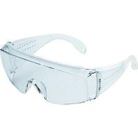 TRUSCO(トラスコ中山) 保護メガネ・ゴーグル メガネ併用 一眼型セーフティグラス クリア GS180N 1個 171-4074 (取寄品)