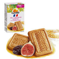 Gerble(ジェルブレ) プルーン&イチジクビスケット ポケットサイズ 1箱(4枚入) 大塚製薬 栄養補助食品