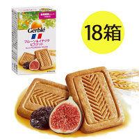 Gerble(ジェルブレ) プルーン&イチジクビスケット ポケットサイズ 1セット(4枚)×18箱 大塚製薬 栄養補助食品