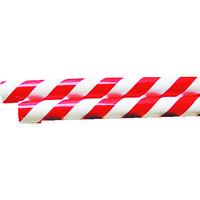 日東エルマテリアル(Nitto) パイププロテクター 赤/白 RW-13 RW-13 1m 326-1352 (直送品)