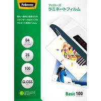 フェローズ パウチフィルム 100ミクロン ベーシック B4サイズ用 5400901 1箱(25枚入)