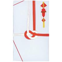 今村紙工 祝儀袋 大阪折赤白7本 1105-5 1パック(5枚入)