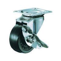 ハンマーキャスター ハンマー オールステンレス S型自在 SP付 ゴム車65mm 315SR65BAR01 1個 125ー1350 (直送品)