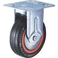 ハンマーキャスター ハンマー M型 固定 ゴム車B入り125mm 420MRRB125BAR01 1個 212ー3401 (直送品)