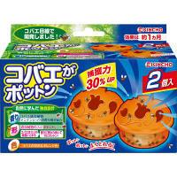 キンチョー コバエがポットン 置くタイプ コバエ取り 1箱(2個入り) 大日本除虫菊