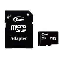 Team製microSDカード2GB