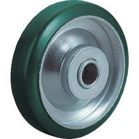 ユーエイキャスター(YUEI CASTER) 車輪 100径ウレタン車輪 UW-100 1個 296-3515 (直送品)