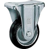 オーエッチ工業(OH工業) プレスキャスター 固定 ゴム車 180mm OHK-180 1個 137-5849 (直送品)