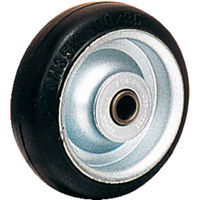 オーエッチ工業 OH プレスキャスター 車輪のみ ゴム車 130mm OH35M130 1個 137ー6152 (直送品)