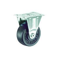 ハンマーキャスター ハンマー S型 固定 ゴム車65mm 420SRR65BAR01 1個 125ー1872 (直送品)