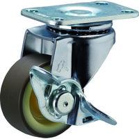 ハンマーキャスター(HAMMER CASTER) Eシリーズ自在ブレーキ付ウレタン車40mm 415E-UR40-BAR01 1個 367-0783 (直送品)