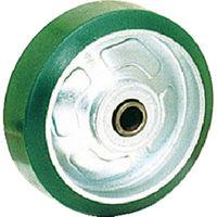 オーエッチ工業(OH工業) プレスキャスター 車輪のみ ウレタン車 100mm OH35U-100 1個 137-6144 (直送品)