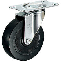ハンマーキャスター(HAMMER CASTER) ハンマー E型 自在 ゴム車50mm 420E-R50-BAR01 1個 125-3484 (直送品)