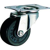 ハンマーキャスター ハンマー オールステンレス E型自在 ゴム車50mm 320ER50BAR01 1個 125ー0825 (直送品)