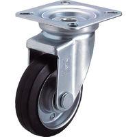 ユーエイキャスター ユーエイ 産業用キャスター自在車 200径ゴム車輪 WJ200Y 1個 296ー3701 (直送品)