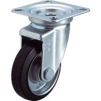 ユーエイキャスター ユーエイ 産業用キャスター自在車 100径ゴム車輪 WJ100Y 1個 296ー3647 (直送品)
