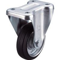 ユーエイキャスター ユーエイ 産業用キャスター固定車 200径ゴム車輪 WK200Y 1個 296ー3795 (直送品)