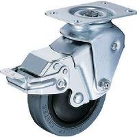 クッションキャスター 自在SP付 ゴム車 線径2.3mm 935BBE-FR100-23-BAR01 1個 309-3034 (直送品)