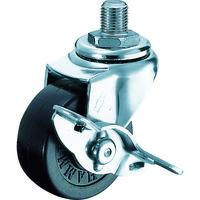 ハンマーキャスター ハンマー A型ねじ式 自在SP付 ゴム車50mm M12XP1.25 415A30R50BAR01 242ー5530 (直送品)