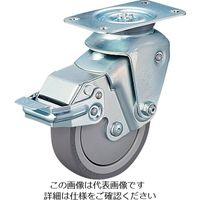 ハンマーキャスター クッションキャスター 自在 SP付 ウレタン車 線径2.3mm 935BBEBLB10023BAR01  309ー2984 (直送品)
