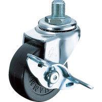 ハンマーキャスター ハンマー A型ねじ式 自在SP付 ゴム車40mm M12XP1.25 415A30R40BAR01 242ー5521 (直送品)