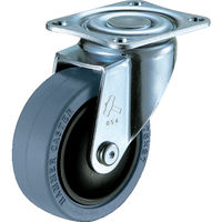 ハンマーキャスター(HAMMER CASTER) 静かシリーズS型自在ゴム車B入り65mm 420BBS-FR65-BAR01 1個 319-9011(直送品)